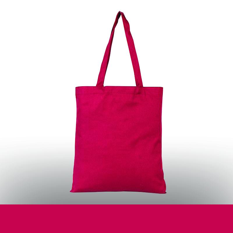 Renkli Baskısız Gabardin Bez Çanta